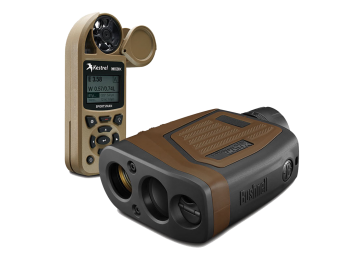 Bushnell Elite Tactical Con-x with Kestrel Sportsman LINK