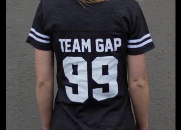 G.A. Precision Women's Graphite GA Baseball T-Shirt