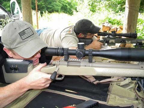 At the range with Chicago SWAT | Team GA