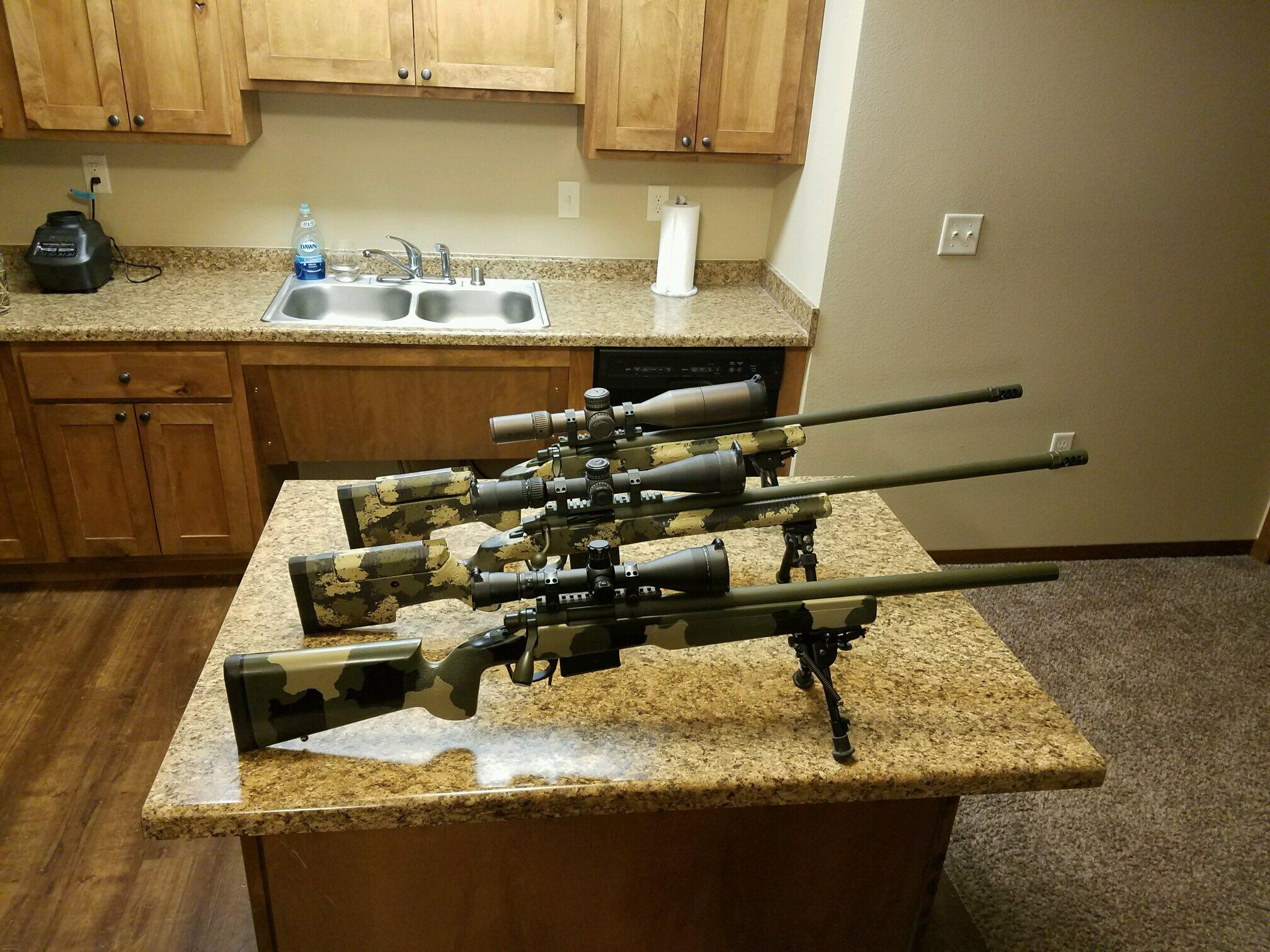 3 GAP Rifles