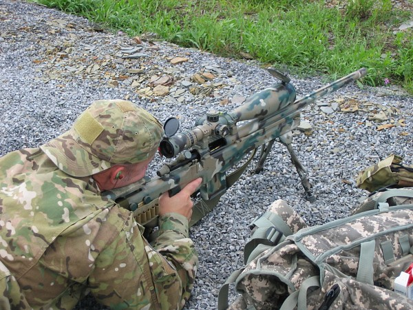 GAP Rifle in Action