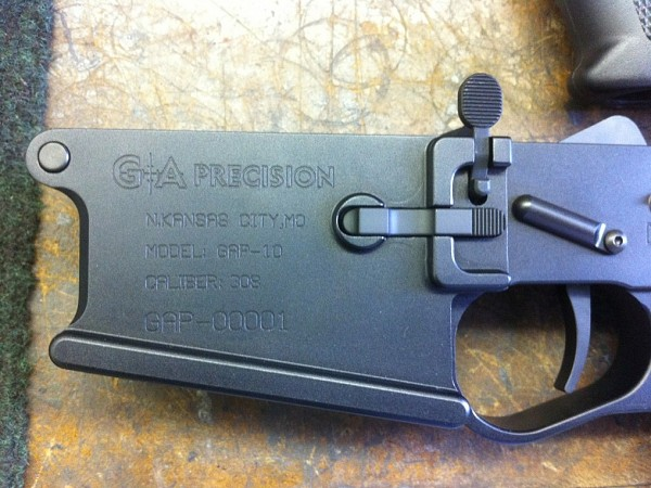 The First Production GAP 10 Lower!