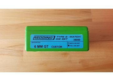 Redding Reloading 6mm GT Die set