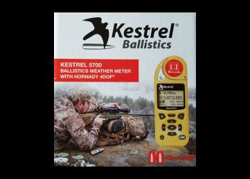Kestrel 5700 Ballistics Weather Meter w/ Hornady 4DOF