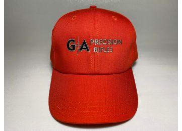 GA Precision Logo Hunter Orange Ball Cap