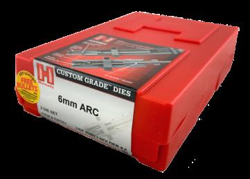 Hornady 6mm ARC Custom Grade Dies