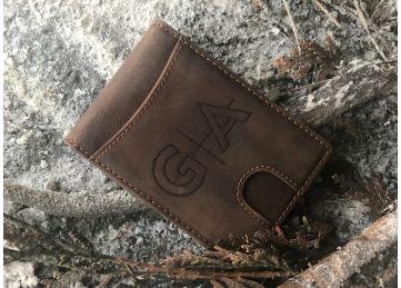GAP Logo Leather Wallet