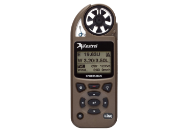 Kestrel Sportsman Weather Meter w/ Applied Ballistics, Link-Green