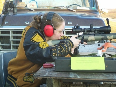 Heather with GAP .260 | Rifle