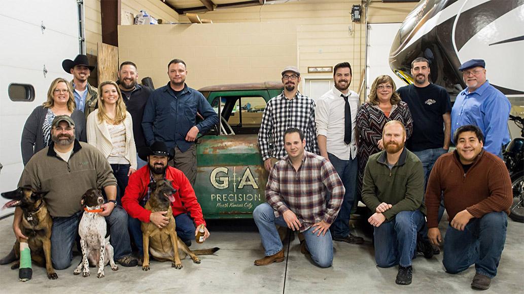 GA Precision staff